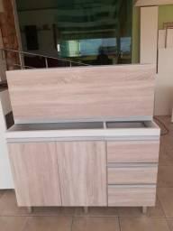 Conjunto armário c/ balcão de 1.20mtX85cm 52cm