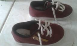 Calçados infantil conservados