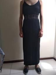 Vestido longo d festa