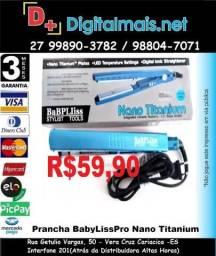 Promoção Prancha Chapinha Alisadora Nano Titanium