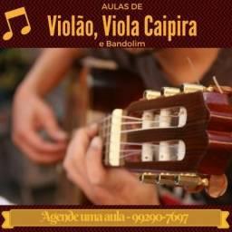 Aulas de Violão Clássico e Popular, Viola Caipira e Bandolim no centro de BH