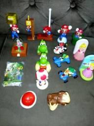 Lote brinquedos mario mac Donald's