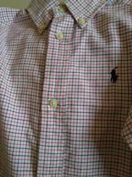 Camisa Social Menino Ralph Lauren Original 3 / 3 T
