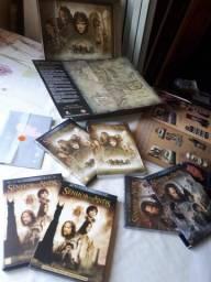 Coleção Filmes Senhor Anéis Novos