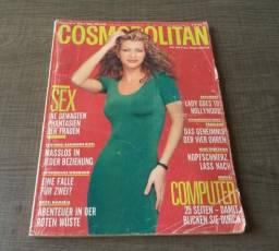 Revista Cosmopolitan, Março De 1992. Capa Amber Laura Heard