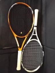 2 Raquetes de tênis
