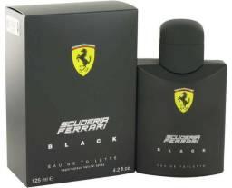 Perfume Importado ferrari black 100% original 125ml, promoção passamos cartão