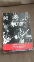Dvd triplo instrumental 4action com assinatura dps músicos