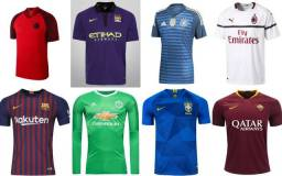 Camisas PSG/Barcelona/Manchester City