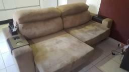 Sofá retrátil e reclinável 2.40 mts