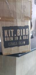 Kit Biab para a fabricação de cerveja kit compreto.