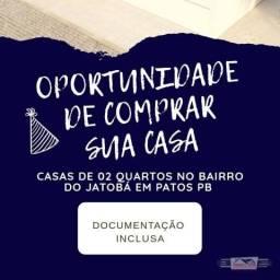 Casa com 2 dormitórios à venda, 80 m² por R$ 120.000 - Jatobá - Patos/PB