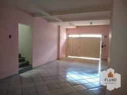 Casa com 3 dormitórios para alugar, 198 m²- Jardim Bela Vista - Bauru/SP