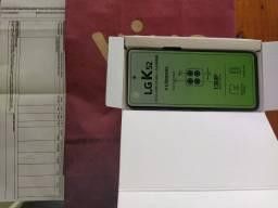 """Vendo Lançamento LG k52/64gb/6.6""""tela/4 Cameras/NOVO na caixa+NF 1 ano de garantia!"""