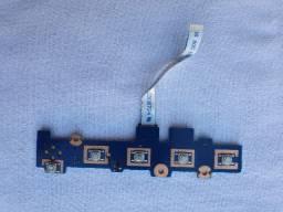 Placa Auxiliar Power Samsung Rf511