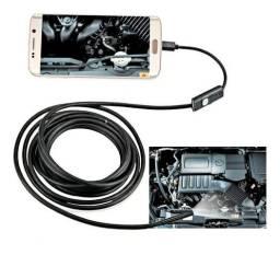 Câmera Inspeção Celular Android Pc Usb 5met