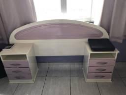 Cabeceira de Cama-Solteiro + mesa de cabeceira comprar usado  Castanhal