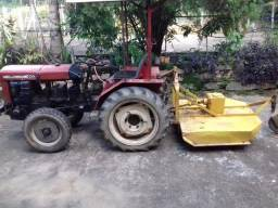 Trator agrale 4100 com implementos