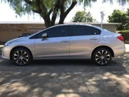 Honda Civic LXR 2016 Completo Placa A - 2016