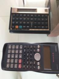 Calculadoras hp + Calculadora Casio