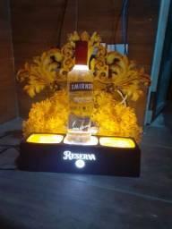 Display para bebida com led / tag da 51 reserva