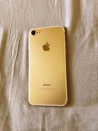 Apple 7 32 gb gold muito zero