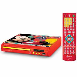 DVD PLAYER COMPACT TECTOY Mickey