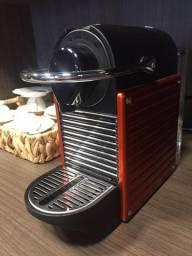 Cafeteira Espresso Nespresso Pixie Eletric - C61 Vermelha - 220V