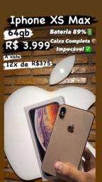 Iphone XS Max Gold 256gb (Impecável)