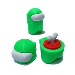 Boneco Among Us - Desmontável - Várias Cores - 3D Print