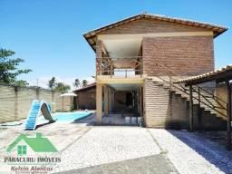 Agradável casa com piscina nas Carlotas em Paracuru