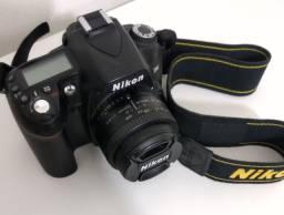 Vendo Nikon D90 + Lente Nikon 50 mm AF 1.8 f