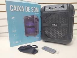 Caixa de som inova portátil USB cartão de memória