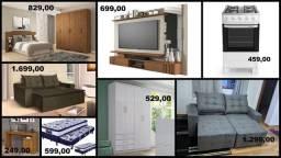 Móveis e Eletrodomésticos Direto da Fábrica é com a Casa & Escritório