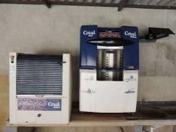 Máquina de Tinta da Coral e Batedor em Perfeito Estado