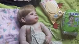 Bebê reborn corpo de venil