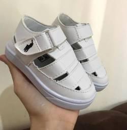 Título do anúncio: Sandália Polo Infantil Menino Kids Sapato Calçado