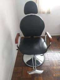 Título do anúncio: Cadeira hidráulica para cabeleireiro