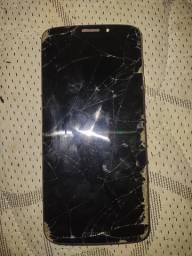 Título do anúncio: Motorola G6 Play Quebrado