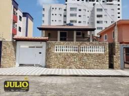 Título do anúncio: Sobrado com 3 dormitórios, lado PRAIA, 254 m² por R$ 530.000 - Jardim Praia Grande - Monga