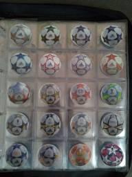 Coleção completa Tazos Champions