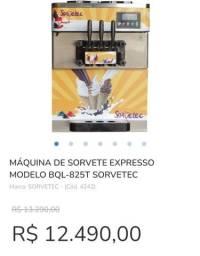 Título do anúncio: Maquina sorvete italiano