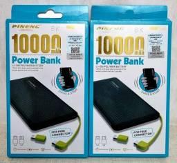 Título do anúncio: Bateria portátil com 10.000mAh.
