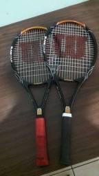 Estou vendendo as 2 raquetes.