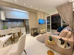 Apartamento com 2 dormitórios à venda, 60 m² por R$ 374.990,00 - Residencial Alvorada - Cu