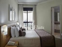Flat no Transamerica Prime Paradise Garden, com 2 dormitórios, 59 m² e 1 vaga de garagem