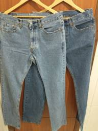 Título do anúncio: 2 Calças Jeans Levis LEIA a descrição antes de perguntar