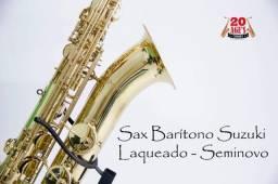 Sax Barítono Suzuki laqueado - Consignado