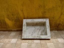 Jogo de bancadas banheiro nicho, lavatório com acessórios