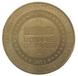 Título do anúncio: Medalha Turística da Basilica do Sagrado Coração de Jesus de  Paris - Monnaie 2005
